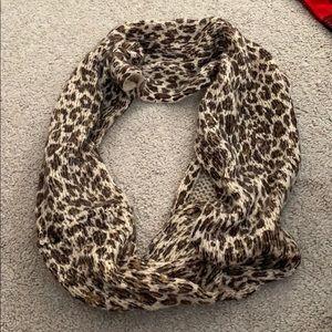 Infinity cheetah scarf